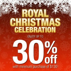 Royal Sporting House: Up to 30% OFF with min Purchase of $130