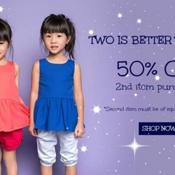 Camouflage Kids: Two is Better Than One Mini Fashionistas @50% OFF--2nd Items