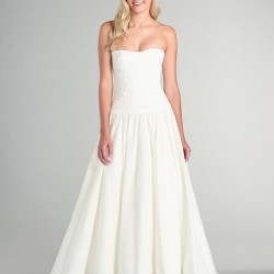 MyHabit (Amazon's flash sales site): Nicole Miller Women's Laurel Silk Faille Wedding Gown in Antique White