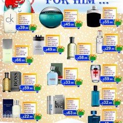 Beauty Language: Christmas Fragrance Promotion (Men)