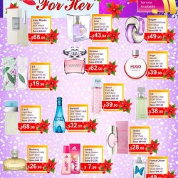 Beauty Language: Christmas Fragrance Promotion (Ladies)
