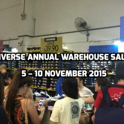 Converse Annual Warehouse Sale 2015