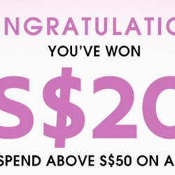 Luxola: S$20 OFF S$50 Scratch and Win Promotion