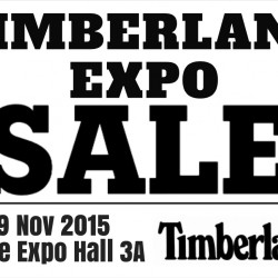 Singapore Expo: Timberland Expo Sales 2015