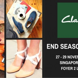 Singapore Expo: Clarks End Season Sales Event