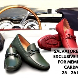 Salvatore Ferragamo: Exclusive Sale Preview for Members & UOB cardmembers