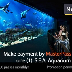 AXS: Receive One Free S.E.A. Aquarium One-Day Pass with MasterPass Payment