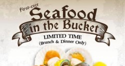 Sakura International Buffet: Unlimited Servings of Seafood in the Bucket