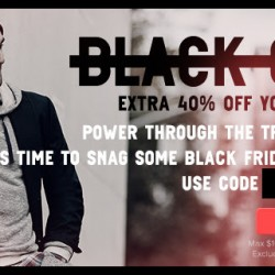 Gilt: Black Friday Extra 40% OFF Your Order