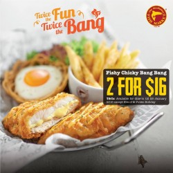 The Manhattan FISH MARKET: 2 Fishy Chicky Bang Bang for just $16, 42% OFF