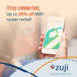 Zuji: WiFi Routers_For Daily Rental Starts @28% OFF