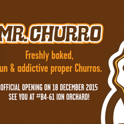 Mr Churro: 1-for-1 Churro at New Orchard Ion Outlet