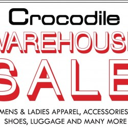 Crocodile: Annual Warehouse Sale