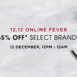 Luxola: 12.12 Online Fever 35% OFF Select Brands