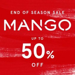 Zalora: Mango End of Season Sale up to 50% OFF