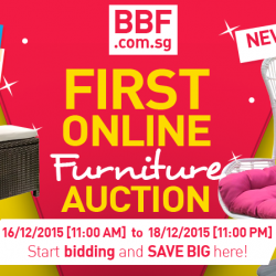 Big Box: Online Auction on Outdoor Furniture starting from $50!