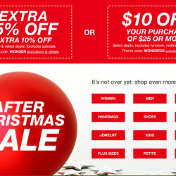 Macy's: Up to 75% OFF a Selection of Apparel, Shoes, Handbags, Home Decor, Bedding, and more
