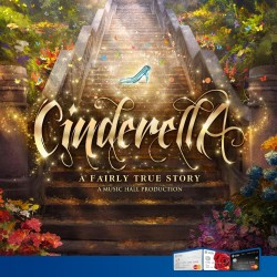 UOB: Cinderella, A Fairly True Story Musical @20% OFF Show Tickets w/ UOB MasterCard.