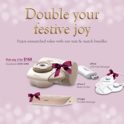 OSIM: Magical Christmas Gift Bundle 2 for $168