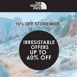 The North Face: Irresistable Offers @60% OFF_15% OFF StoreWide.