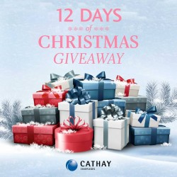 Cathay Cineplexes: Christmas GiveAway_12 Days