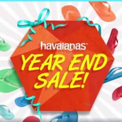 Common Thread: The Havaianas Year End Sale @50% OFF + FREE Havaianas Holiday Getaway bag.