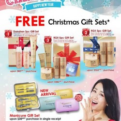 Somang: Free Christmas Gifts Sets