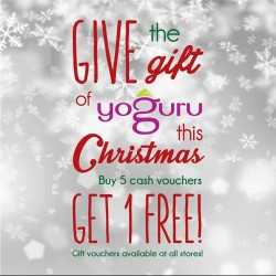 Yoguru: Christmas Edition Yoguru @Buy 5 get 1 FREE