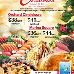 K Box Karaoke: Christmas Festive Buffet