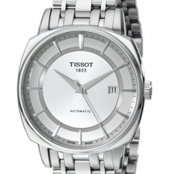 Amazon: Tissot Men's 'T Lord' Silver Dial Stainless Steel Automatic Watch T059.507.11.031.00 Via Coupon Code