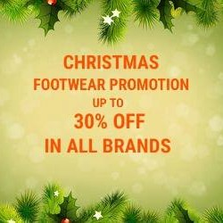 I Run: CHRISTMAS FOOTWEAR PROMOTION @30% OFF in All Brands