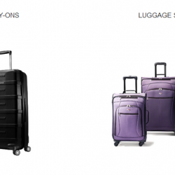 Amazon: Takes Extra 25% OFF Selection Luggage Via Coupon Code.
