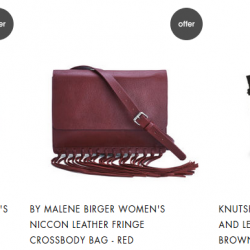 MyBag: Extra 30% OFF Outlet  New Lines Added Via Coupon Code