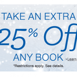 Amazon: Cuts Extra 25% OFF one Book Via Coupon Code