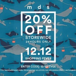 MDSCollections: 20% OFF Storewide for 24 Hours only