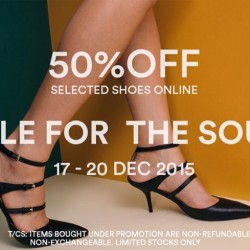 MDSCollections: 50% OFF Selected Shoes Online