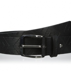Amazon: Armani Jeans Men's Laser Printed Belt Black