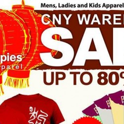 Hush Puppies: CNY Warehouse Sale Up to 80% OFF