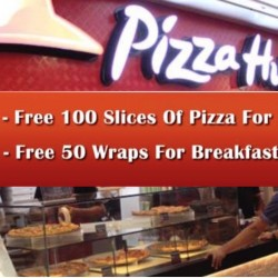 Pizza Hut: Free Pizza Slices at Tanjong Pagar MRT Xchange Outlet