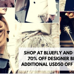 Bluefly: Up to 70% OFF Designer Brands + Additional USD50 OFF