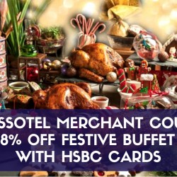 Swissotel Merchant Court: 18% OFF Buffet with HSBC Cards