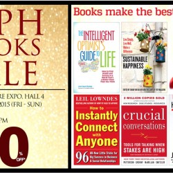 Singapore Expo: MPH Books Sale