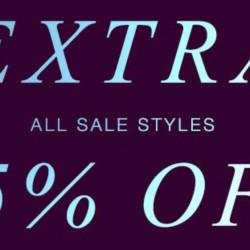 Shopbop: Extra 25% OFF All Sale Styles