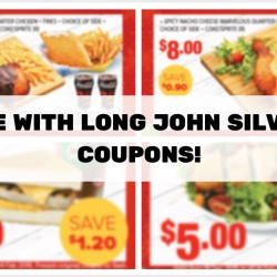 Long John Silver's: Save up to $3.80 with Coupons