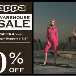 Kappa: Warehouse Sale Up to 80% OFF