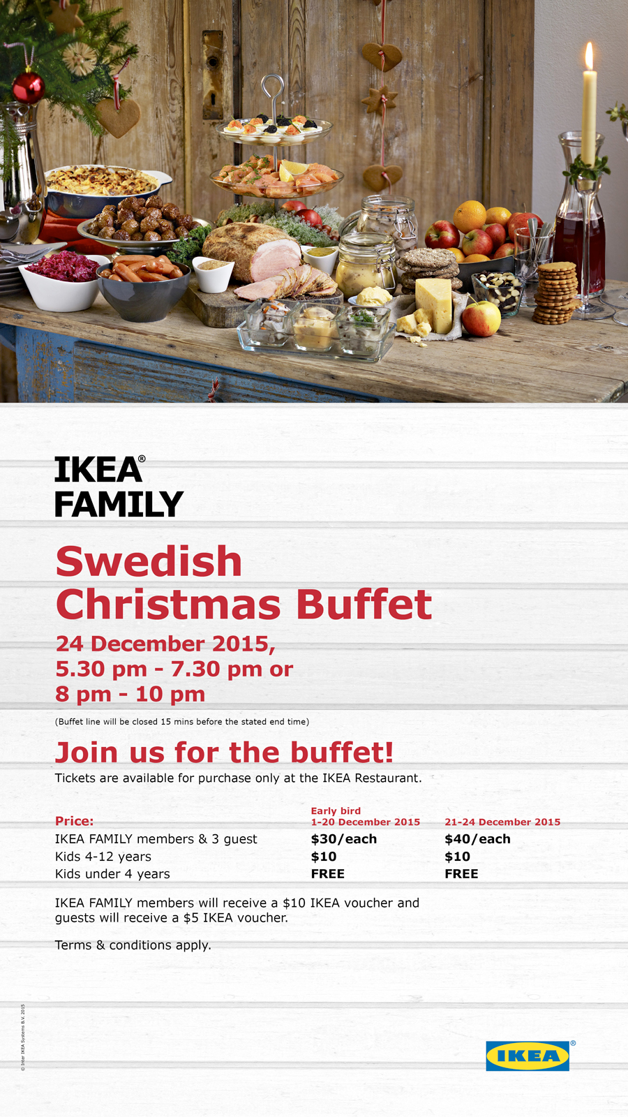 IKEA Singapore: Swedish Christmas Buffet 24 Dec 2015 - 👑BQ.sg ...