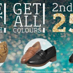Mitju: 25% OFF 2nd Pair of Shoes Online