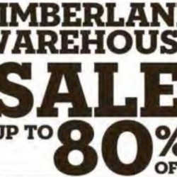 Timberland: Warehouse Sale up to 80% OFF