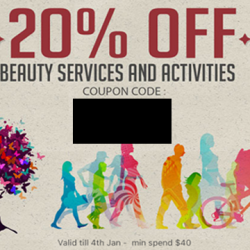 Deal.com.sg: 20% OFF Beauty Services & Activities