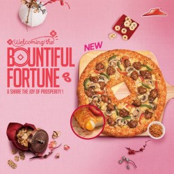 Pizza Hut: NEW Bountiful Fortune Pizza
